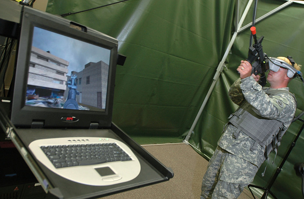Virtual Reality「2nd Stryker Brigade Combat Team Trains For Iraq Deployment」:写真・画像(19)[壁紙.com]