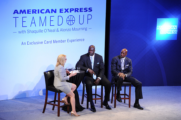 アロンゾ モーニング「American Express Teamed Up With Shaquille O'Neal And Alonzo Mourning」:写真・画像(17)[壁紙.com]