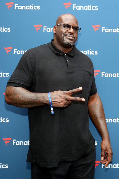 Shaquille O'Neal「Michael Rubin's Fanatics Super Bowl Party - Arrivals」:写真・画像(4)[壁紙.com]