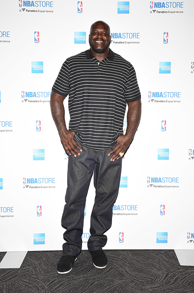 Shaquille O'Neal「American Express Surprises Boys & Girls Club of Southeast Louisiana With A Visit from Shaquille O'Neal at the NBA Store」:写真・画像(9)[壁紙.com]