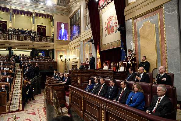 Atmosphere「Spanish Royals Attend the 14th Legislative Sessions Opening」:写真・画像(10)[壁紙.com]