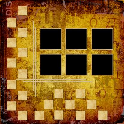 Manuscript「Grunge frameworks for invitation on the vintage abstract background」:スマホ壁紙(5)
