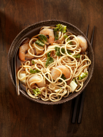 Soy Sauce「Noodle Soup with Shrimp」:スマホ壁紙(18)