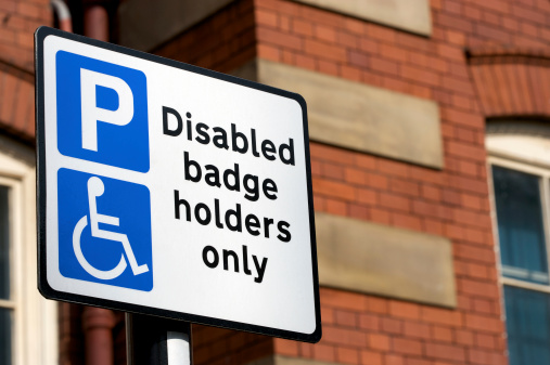Accessibility for Persons with Disabilities「Disabled Badge Holders Only Sign」:スマホ壁紙(11)