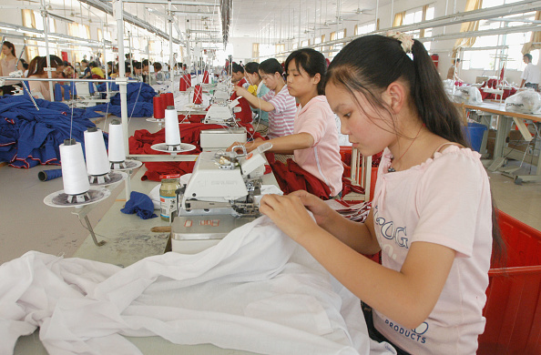 服装「US And China Seek To Resolve Textile Dispute」:写真・画像(1)[壁紙.com]