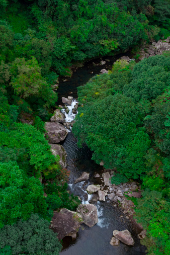 済州島「Cheonjiyeon Waterfall」:スマホ壁紙(16)