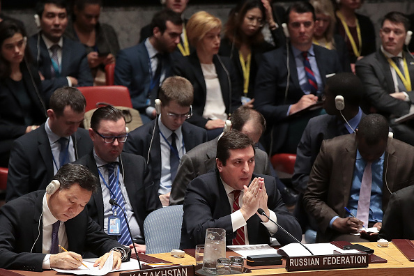 United Nations Building「United Nations Security Council Meets To Discuss Recent U.S. Airstrikes In Syria」:写真・画像(9)[壁紙.com]