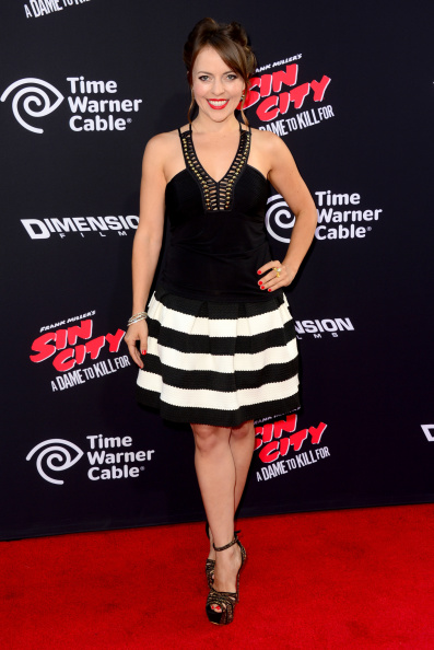 """Metallic Shoe「Premiere Of Dimension Films' """"Sin City: A Dame To Kill For"""" - Arrivals」:写真・画像(1)[壁紙.com]"""