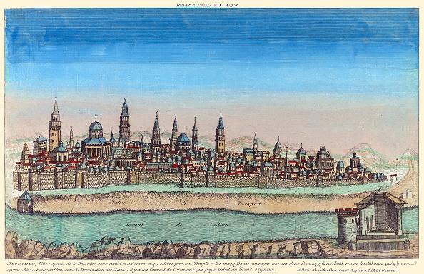City Life「'Imaginary View Of Jerusalem, Capital Of Palestine'」:写真・画像(12)[壁紙.com]