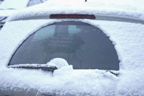 Windshield Wiper「Frozen car」:スマホ壁紙(11)