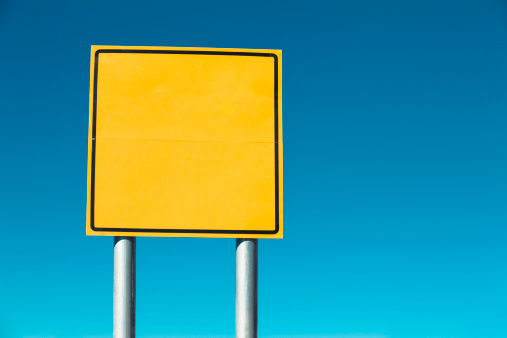 Choosing「blank road sign」:スマホ壁紙(19)