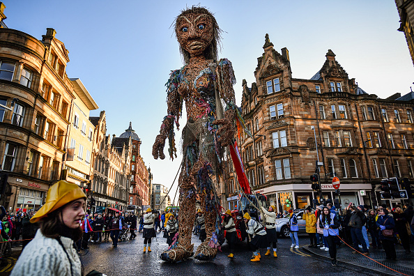 Glasgow - Scotland「10-Metre Tall Puppet Kicks Off Opening Weekend Of Celtic Connections」:写真・画像(0)[壁紙.com]