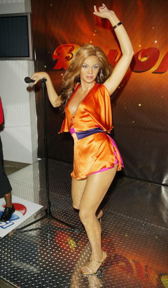 Wax Figure「Beyonce Wax Figure At Madame Tussaud」:写真・画像(6)[壁紙.com]
