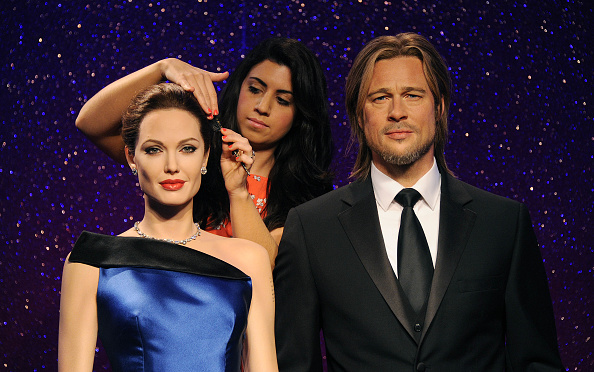 Madame Tussauds London「Madame Tussauds Unveil New Wax Figures Of Brad Pitt And Angelina Jolie」:写真・画像(6)[壁紙.com]