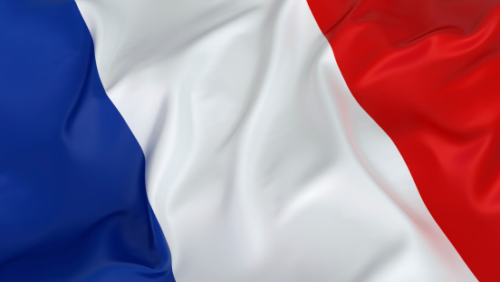 Patriotism「Majestic French Flag」:スマホ壁紙(9)