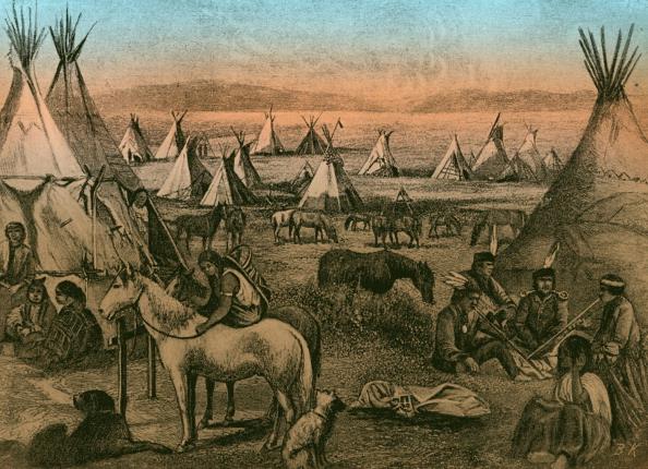 Navajo Culture「Navajo Indian encampment」:写真・画像(15)[壁紙.com]