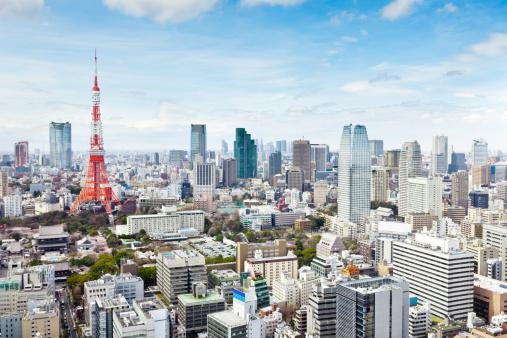 Tokyo Tower「Tokyo, Japan」:スマホ壁紙(3)