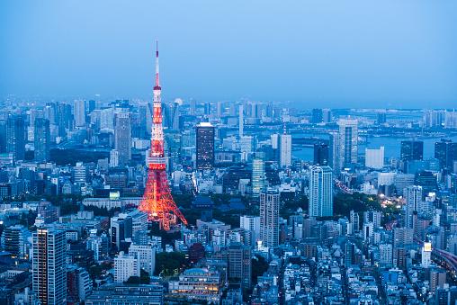 Minato Ward「Tokyo, Japan」:スマホ壁紙(1)