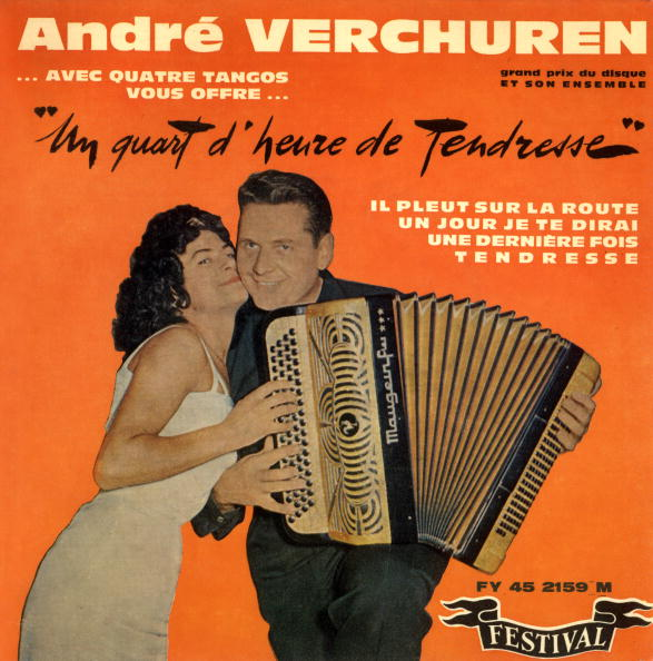 Accordion - Instrument「Single sleeve record of french accordion player Andre Verchuren, France, 60's」:写真・画像(5)[壁紙.com]