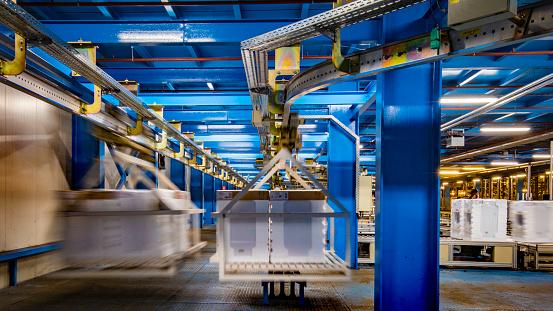 Industry「Automated warehouse transportation system」:スマホ壁紙(1)