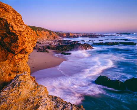 California State Route 1「Pescadero State Beach seacape,beach,surf,CA」:スマホ壁紙(19)