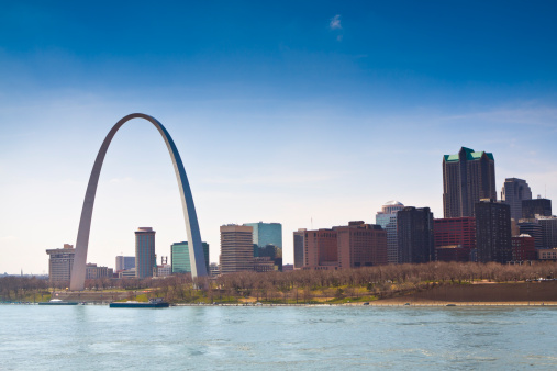 Arch - Architectural Feature「Skyline of Saint Louis」:スマホ壁紙(7)