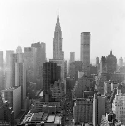 Urban Skyline「Skyline of New York City, Empire State Building.」:スマホ壁紙(2)