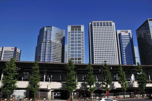 Shinagawa-ku「Skyline of Shinagawa Ward, Tokyo Prefecture, Honshu, Japan」:スマホ壁紙(9)