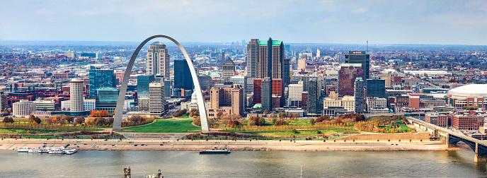 St「Skyline of St. Louis」:スマホ壁紙(0)