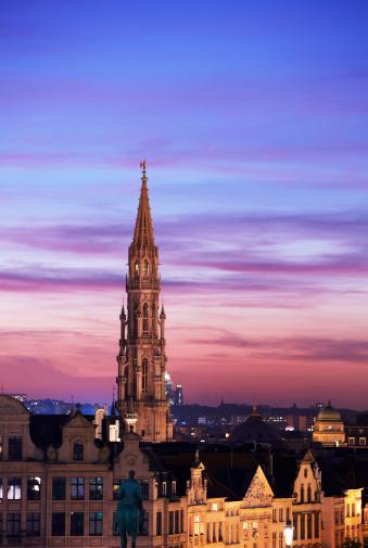 Belgium「Skyline of Brussels」:スマホ壁紙(8)