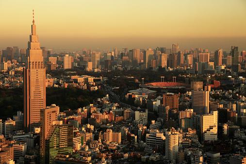 Tokyo - Japan「Skyline of Shinjuku」:スマホ壁紙(17)