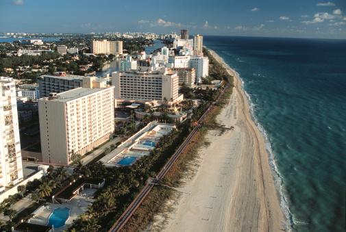 Miami Beach「Skyline of miami beach」:スマホ壁紙(2)
