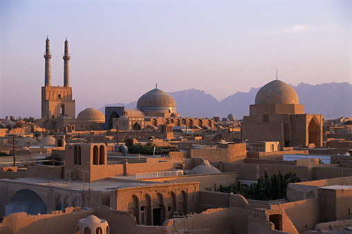Iran「Skyline of Yazd」:スマホ壁紙(11)