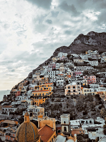 Auto Post Production Filter「Skyline of Positano, Italy」:スマホ壁紙(14)