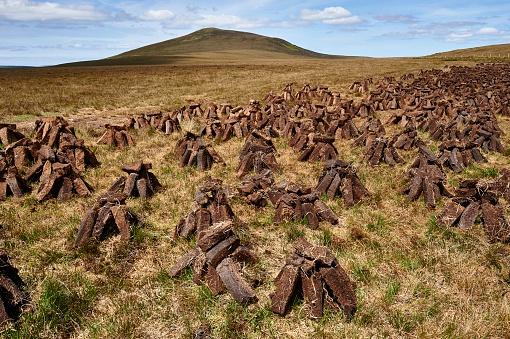 Peat「Peat Field, Ireland」:スマホ壁紙(12)