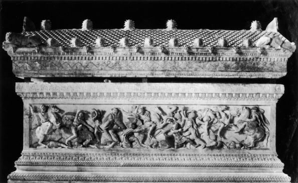 Place of Burial「Alexander Sarcophagus」:写真・画像(4)[壁紙.com]