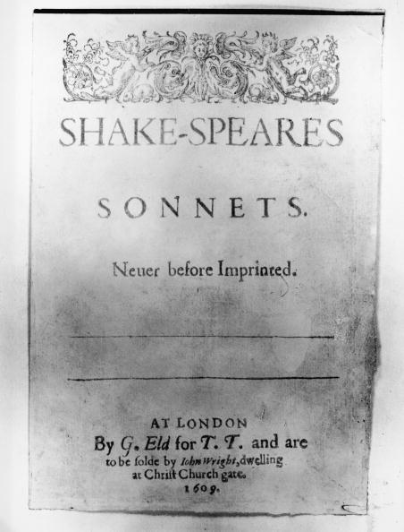 Literature「Shakespeare's Sonnets」:写真・画像(7)[壁紙.com]