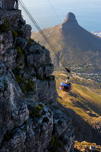 Cable Car「Table Mountain aerial cableway ascending」:スマホ壁紙(13)