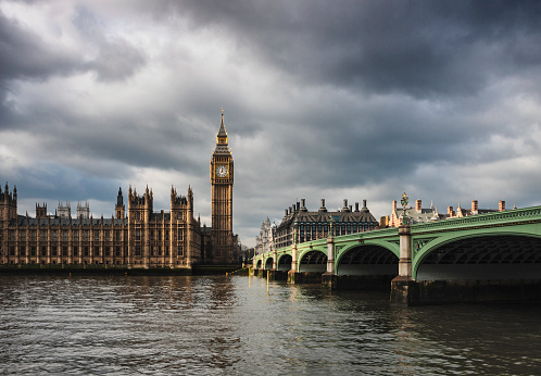 Gothic Style「Big Ben And The Houses Of Parliament, London」:スマホ壁紙(1)