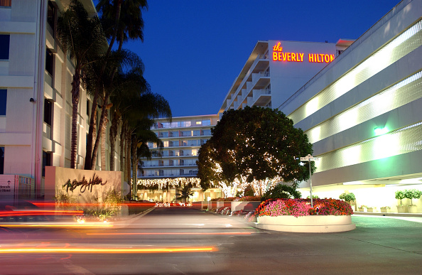 The Beverly Hilton Hotel「Entertainment Industry Landmarks」:写真・画像(1)[壁紙.com]