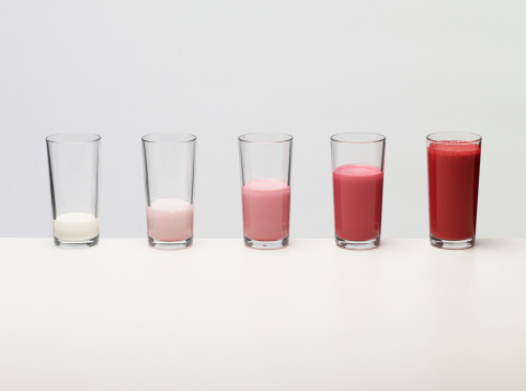 Milkshake「Bar chart made of coloured liquid」:スマホ壁紙(14)