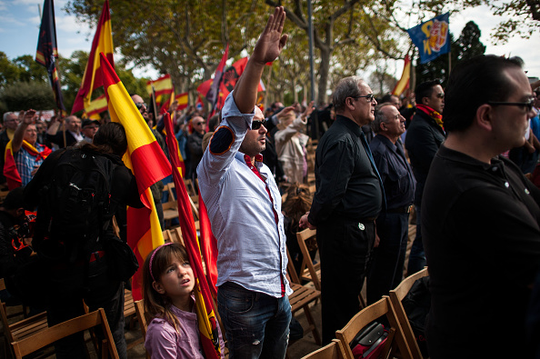 David Ramos「Spanish Far Right And Pro Spain Groups Participate In Demonstrations」:写真・画像(8)[壁紙.com]