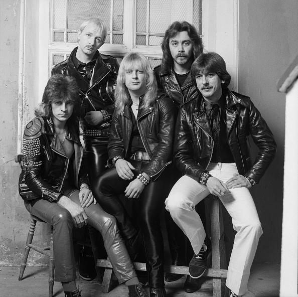 Leather Jacket「Judas Priest At Video Shoot」:写真・画像(0)[壁紙.com]