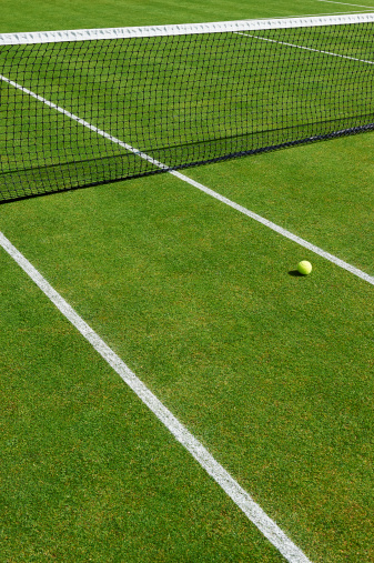 テニスボール「Lawn Tennis Court」:スマホ壁紙(15)