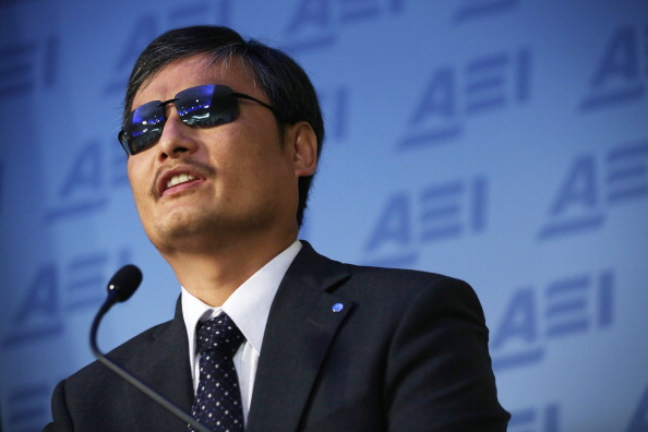 Alex Wong「Chinese Dissident Activist Chen Guangcheng Participates In Discussion On 25th Anniversary Of Tiananmen Square」:写真・画像(16)[壁紙.com]