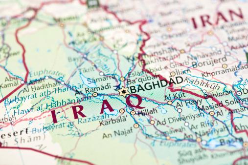 Baghdad「Map of Iraq」:スマホ壁紙(0)
