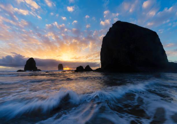 Canon Beach Sunset:スマホ壁紙(壁紙.com)