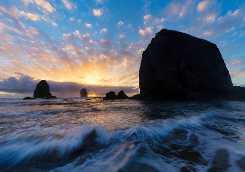 Cannon Beach「Canon Beach Sunset」:スマホ壁紙(19)