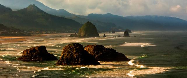 Cannon Beach「Canon Beach, Oregon Coast」:スマホ壁紙(12)
