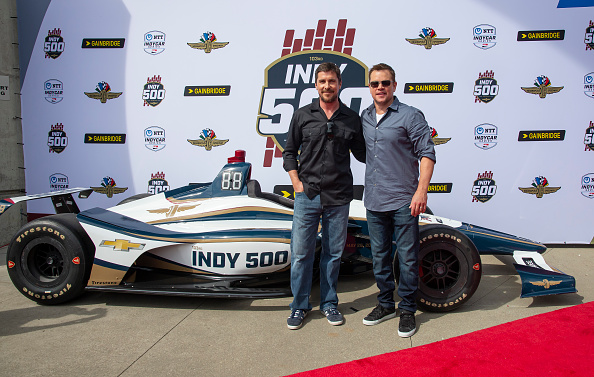 Christian Bale「Celebrities Arrive For The 2019 Indianapolis 500」:写真・画像(8)[壁紙.com]